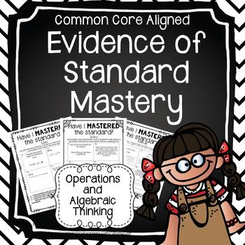 Evidence of Mastery:Operations and Algebraic Thinking (5th Grade)