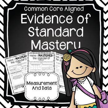 Evidence of Mastery: Measurement and Data (5th Grade)
