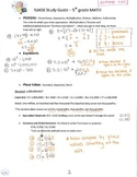Common Core Study Guide - 5th Grade Math