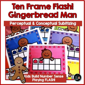 Ten-Frames with the Gingerbread Man!