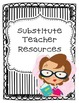 Common Core Substitute Binder THIRD GRADE EDITION