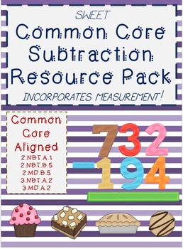 Subtraction Pack: Common Core 3.NBT.A2