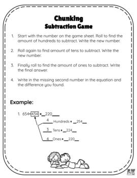 Common Core Subtraction Strategies
