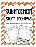 Common Core Subtraction to 10 {manipulatives included}
