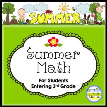 Summer Math - 2nd Graders Going to 3rd