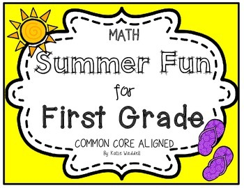 Common Core Summer Math Review - 1st Grade