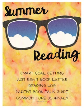 Common Core Summer Reading Activities