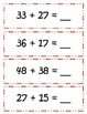 """Common Core """"Sweet Treats"""" Addition w REGROUPING - 1.NBT.C"""