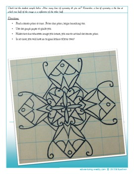 Common Core: Symmetry, Math, Culture and Art. Indian Kolam