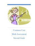 Common Core TOTAL math assessment - 2nd
