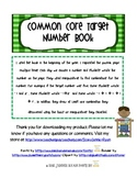 Common Core Target Number Bonds Book