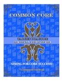 Common Core - Target Practice - Literature  Grade K by Cla
