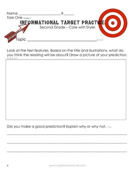 Common Core - Target Practice by Classroom Couture 2nd Grade