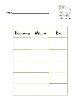 Common Core: Target Sound Graph Game