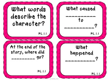 Common Core Task Cards