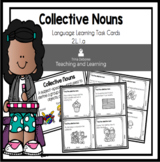 Collective Nouns Task Cards  2.L.1.a for Second Grade