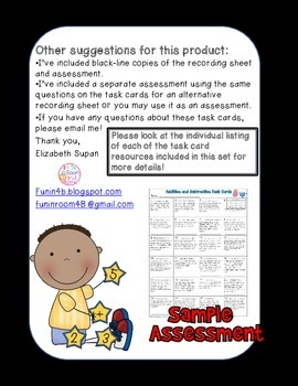 Common Core Task Cards: The Bundle