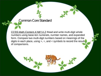 Common Core Task Cards for Comparing Multi-Digit Whole Numbers