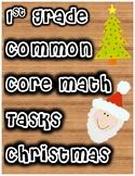 1st Grade Math Task Problems (Christmas)