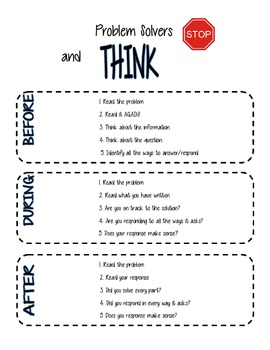 Common Core Task Poster and Guide