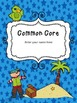 Common Core Teacher Binder Covers: Insect or Pirate Theme