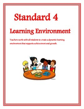 Common Core Teacher Standards Cover Pages for APPR Artifact Binder