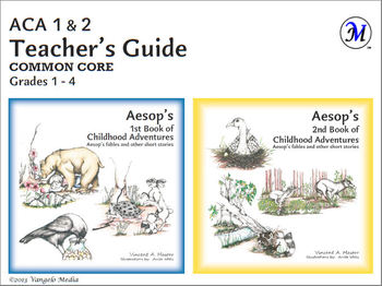 Common Core Teacher's Guide for Aesop's 1st & 2nd Books Grades 1 - 4 (PDF)