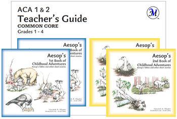 Common Core Teachers Pack - Aesops Fable (5 paperbacks)