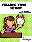 Telling Time Scoot Game