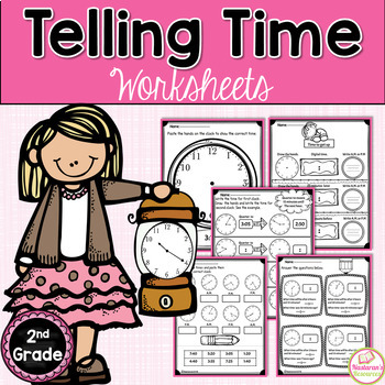 Telling Time To 5 Minutes Second Grade