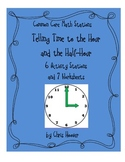 Common Core Telling Time to the Hour and Half-hour Math Stations