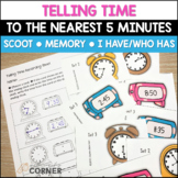 Telling Time to the Nearest 5 Minutes Games