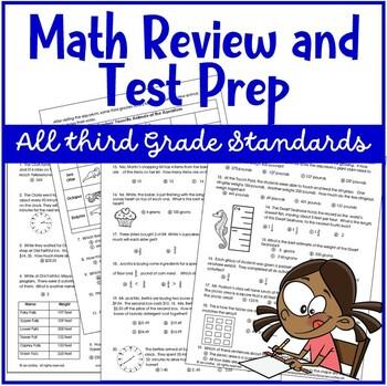 Common Core Test Prep: 3rd Grade Math #2