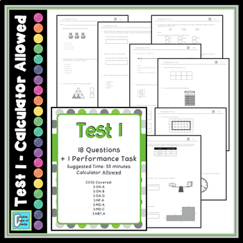 Common Core Test Prep - 3rd Grade Math