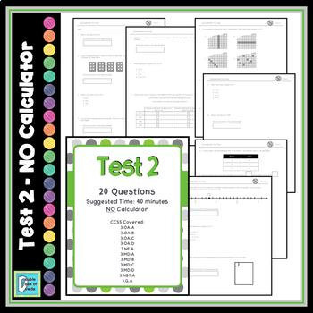 Math Test Prep - 3rd Grade Common Core Practice Tests