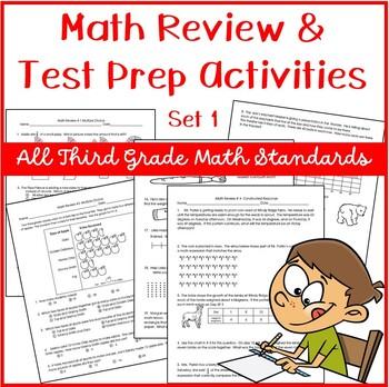 Common Core Test Prep: 3rd Grade Math