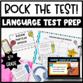 Language ELA Test Prep for 5th Grade {Rock the Test!}