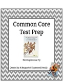 Common Core Test Prep: The People Could Fly