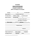 Common Core Text Analysis Template