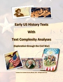 Common Core: Text Collection with Complexity Analyses - Early US History