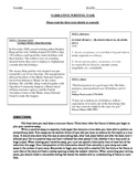 Common Core Text-Dependent Narrative Writing Prompt Grade 6