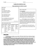 Common Core Text-Dependent Writing Narrative Prompt Grade 7