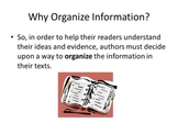 Common Core: Text Structures (PowerPoint)