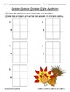 Common Core Thanksgiving Double Digit Addition - CCSS 1.NB