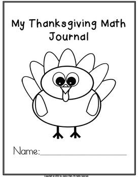 Common Core Thanksgiving Math