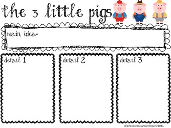 Common Core The 3 Little Pigs Writing Activity