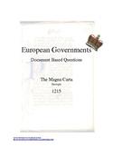 Common Core: The Magna Carta DBQ