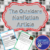 The Outsiders Nonfiction Article