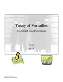 Common Core: The Treaty of Versailles DBQ