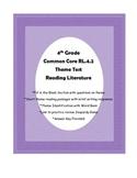 Common Core Theme Test